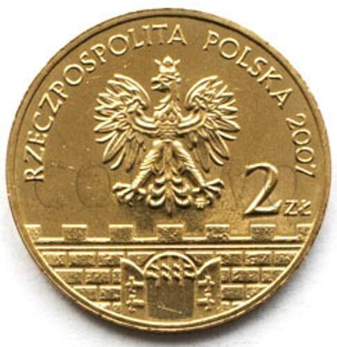 UNC #422 Poland 2 zloty 2007 Slupsk Słupsk