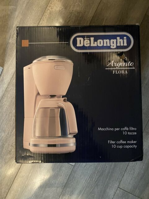 De'longhi ICMX210PK Argento Flora Coffee Maker-Rose