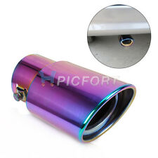 STRAIGHT Exhaust Tail Rear Muffler Tip Pipes Universal Stainless Steel 6cm input