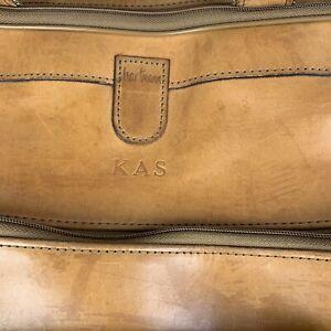 "Vintage HARTMANN  K A S BELTING ALL LEATHER HANGING Handbag 13"" x 19"" X 9"""