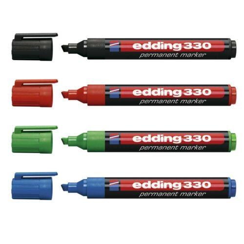 alle Farben frei wählbar Edding 330 Permanentmarker