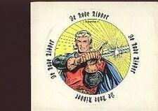 DE RODE RIDDER The red knight carte autocollant sticker by Scriptoria