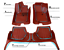 Mercedes Benz ML350//ML550//ML63 GLE 350 NEW Floor mats GENUINE DESIGNO