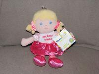 Garanimals My Best Friend First Plush Baby Doll Pink Blonde Yellow Hair
