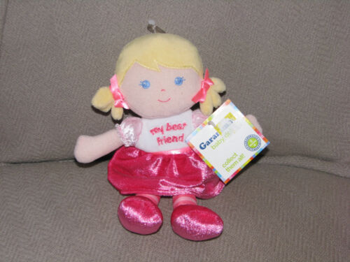 NWT Garanimals My Best Friend First Plush Baby Doll Pink Blonde Yellow Hair