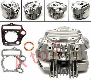Details about 110cc Head Assembly for CHINESE ATV Go Kart Dirt Bike Pit  Bike Mini Chopper E4