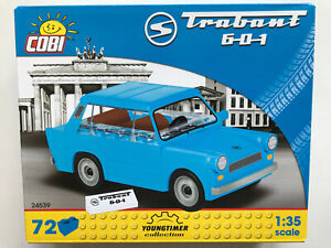 Cobi-Pieces-de-Construction-24539-Trabant-601-72-Pieces-Kit-Montage-Echelle-1-3