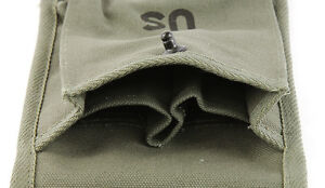 U.S Military M1 Carbine 4 Pocket OD Green Magazine Pouch
