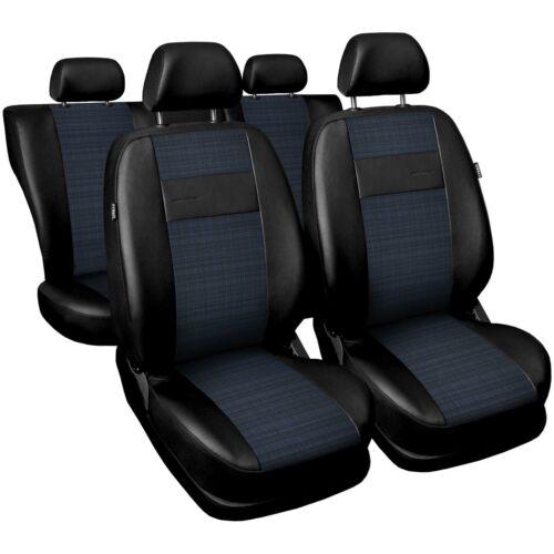Universal Autositzbezüge Blau für Kia Carens Sitzbezüge Sitzbezug Schonbezüge