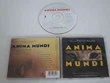 ANIMA MUNDI/COLONNA SONORA/PHILIP GLASS(ELEKTRA NONESUCH 9 79329-2) CD ALBUM