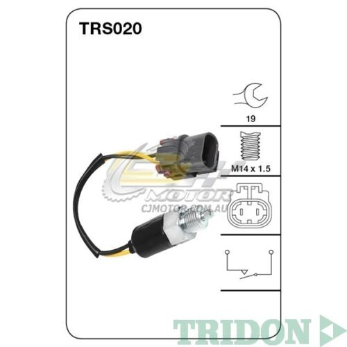 TRIDON REVERSE LIGHT SWITCH FOR Nissan Navara 01860592 2.4LZ248V