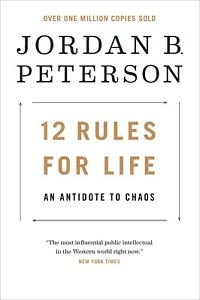 12 Rules for Life : An Antidote to Chaos by Jordan Peterson (2018, Paperback)New