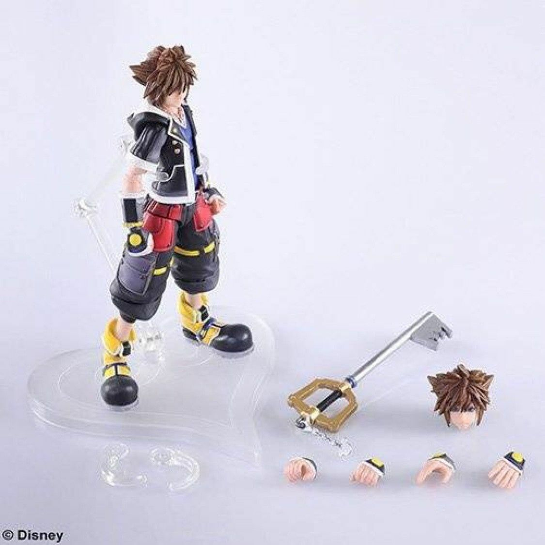 Kingdom Hearts 3 Sora Bring Arts Action Action Action Figure D23 Expo not Bandai SH Figuarts 815409