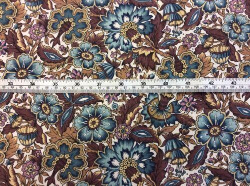 """100/% Cotton 115 Floral Mixer Fabric Pre Cut Fat Quarter 18/"""" x 22/"""" approx"""