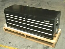 Waterloo Top Chest Tool Box 8 Drawer 51 X 18 X 20 Steel Black Pch 528bk