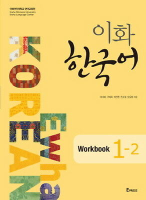 Ewha Korean Workbook 1-2 Korean Language Book Free Ship