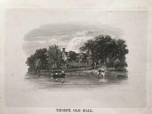 James Stark-Two Antique Engravings c.1834 Norwich