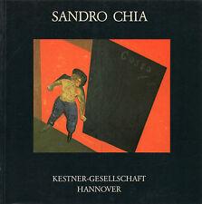 Sandro CHIA. Bilder 1976-1983. Kestner-Gesellschaft Hannover, 1983. E.O.