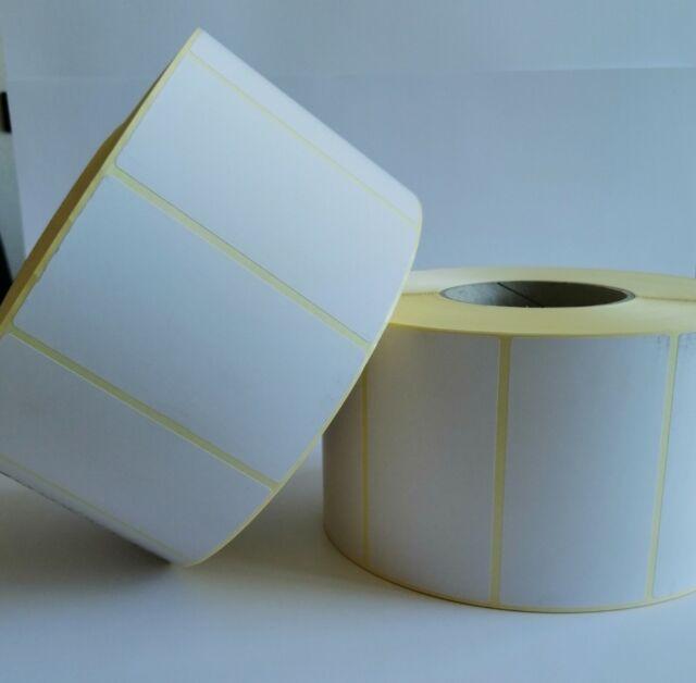 "1000 Papieretiketten Versandetiketten permanent 3/"" Kern 100 x 150 mm"