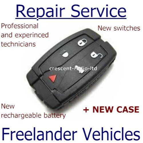 new case Repair refurbishment service for Land Rover Freelander remote key fob