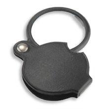 Pocket Folding Magnifing 8X 50mm Jewelry Mini Glass Magnifier Loupe