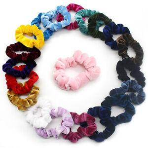 1-20Pcs-Hair-Scrunchies-Velvet-Elastic-Hair-Bands-Scrunchy-Hair-Ties-Ropes-Scrun