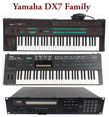 Most Sounds: Yamaha DX7, DX7II, TX7, TX802, TX816, DX5, DX200 Volca FM  Dexed FM8 | eBay