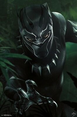 T/'CHALLA POSTER 22x34-15237 BLACK PANTHER MOVIE