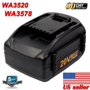 4000mAH-WA3525-WA3578-For-WORX-20V-Max-Lithium-Power-Tool-Battery-WA3520-WA3575