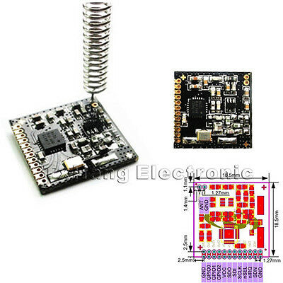 SI4432 470MHz 1000m Wireless Module 470M 433mhz Wireless Communication Module
