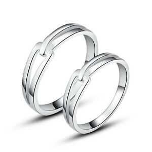 His-amp-Hers-Rings-Sterling-Silver-Couple-Promise-Rings-Wedding-Rings-Nickel-Free