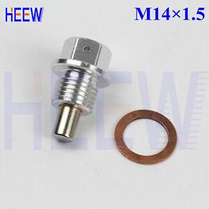 M18 X 1.5 OIL PAN DRAIN PLUG BOLT ENGINE MAGNETIC KIT WITH CRUSH WASHER 10PCS