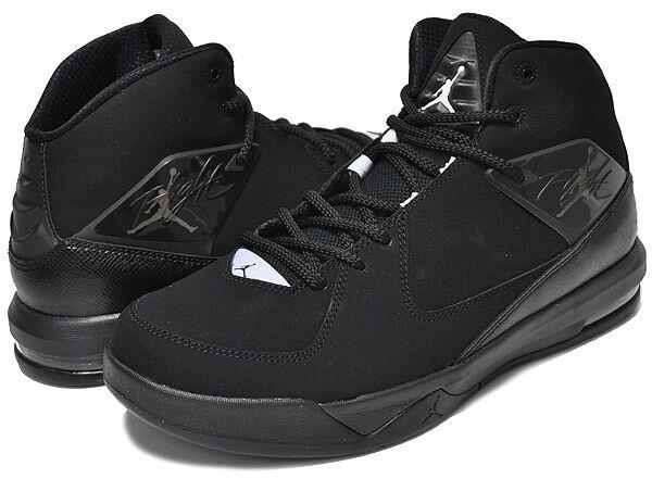 30m --- 705796 021 Jordan Air incline Baloncesto Zapatos Negros blancoo Negro