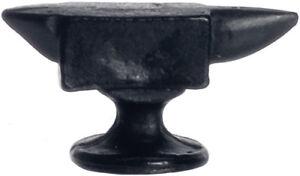 100% Vrai Black Anvil, Maison De Poupées Miniatures, échelle 1:12 Miniature.-afficher Le Titre D'origine Bon GoûT