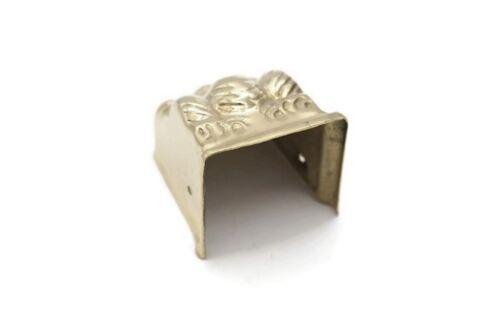 "1 5//8/"" Furniture Leg End Cap Toe Caps Lions Claw Duncan Phyfe Toe Cap Brass Lg"