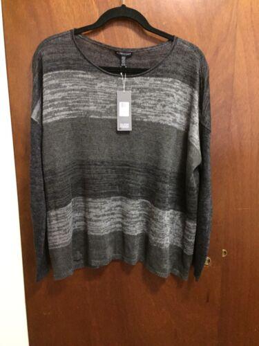Boxtop Ballet Linen Nwt Neck Størrelse Xl 100 Sweater Eileen Fisher twE6X6