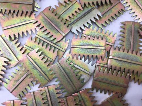 """6 x teiller Peignes 1 1//2/"""" 38 mm 5 x TPI Haute Qualité s/'adapte 38 mm Ciseau gs3 Outil UK"""