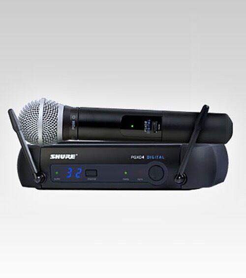 Shure PGX PGXD24 PG58 Digital Wireless Microphone System  - Ships FREE U.S
