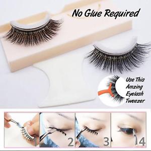 f1b625a546b Image is loading 3D-Reusable-No-Glue-False-Eyelashes-SelfAdhesive-cosmetic-