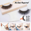 1Pair-3D-Mink-Reusable-Self-Adhesive-Natural-Curly-False-Eyelashes-Extension-New thumbnail 4