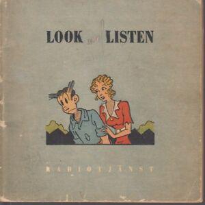 Blondie-und-Dankwart-Chic-Young-Comic-als-Radiokurs-1949-Schweden