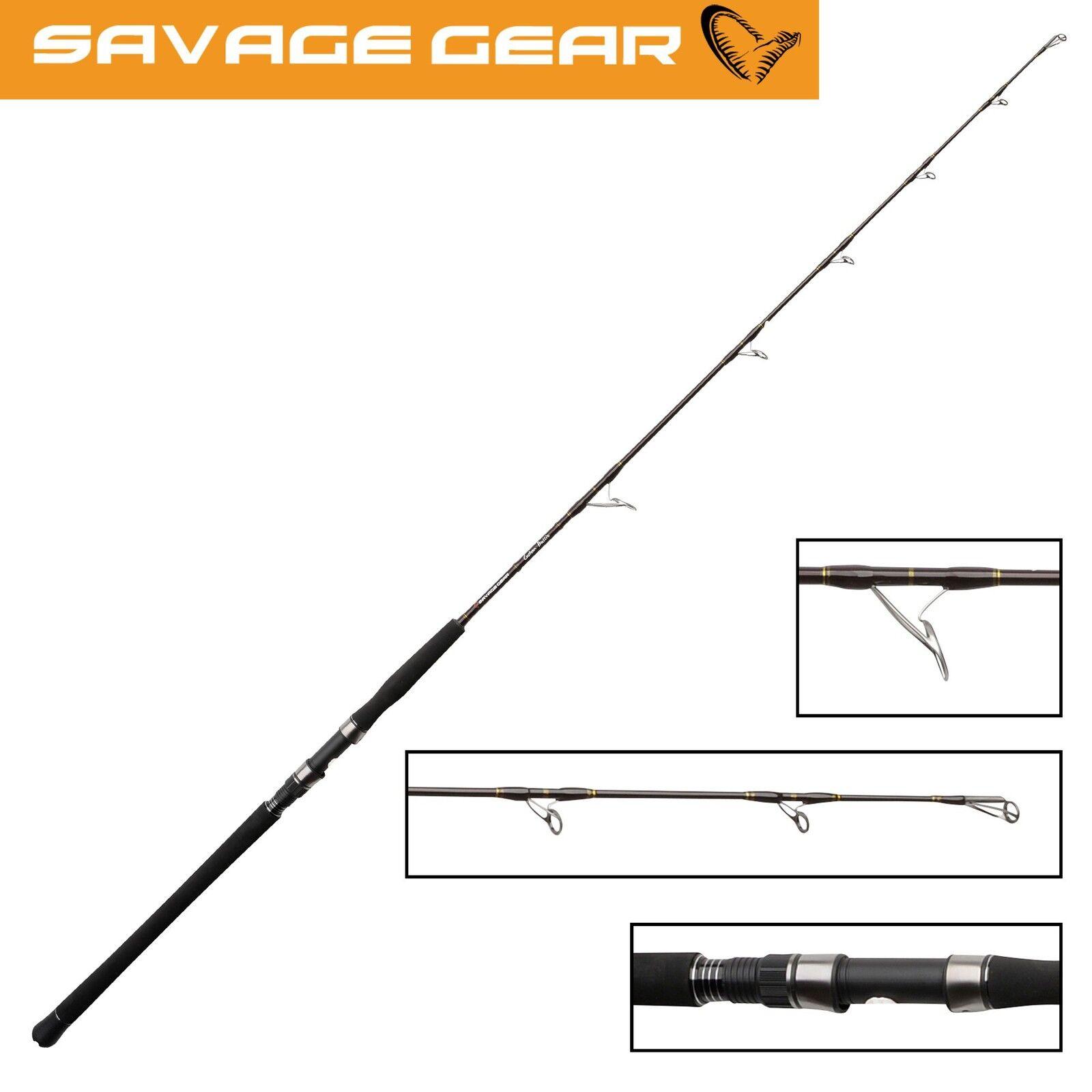 Savage Gear Custom Custom Custom Boat Bullie Spin 168cm 250-600g - Spinnrute fürs Meeresangeln 6ad78a