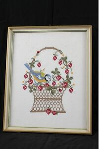 Nice-Old-Stick-Picture-IN-Picture-Frame-Wood-MM-Old