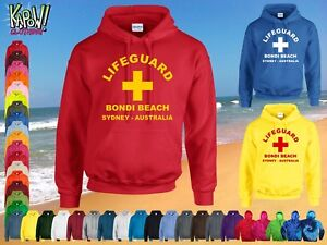 706ec2cce40d62 LIFEGUARD Men s Rescue Custom HOODIE Surf Surfer Hooded Sweatshirt ...