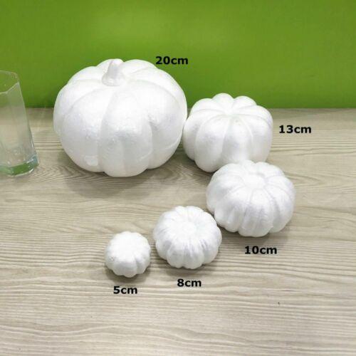 Pumpkin Polystyrene Styrofoam Foam for Craft DIY Decoration Dia 5-20cm