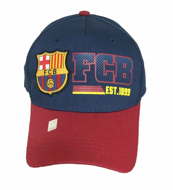 b01af5acbdc FC Barcelona Soccer Hat Cap FCB Official Adjustable Licensed Product ...