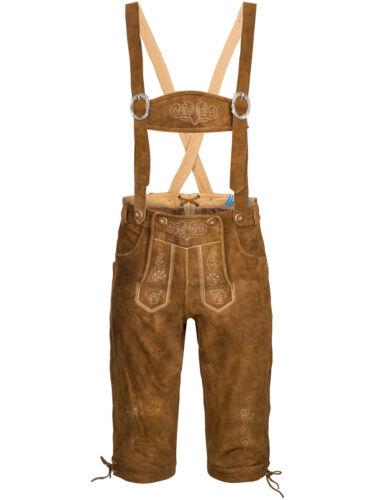 3d6e330eec4cb Bretelles Costumes Cuir Homme Chemise Set Traditionnel En 6tlg Avec Pantalon  686wr