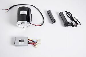 1000-W-48V-DC-1020-electric-motor-kit-w-BASE-control-box-amp-Throttle-f-scooter