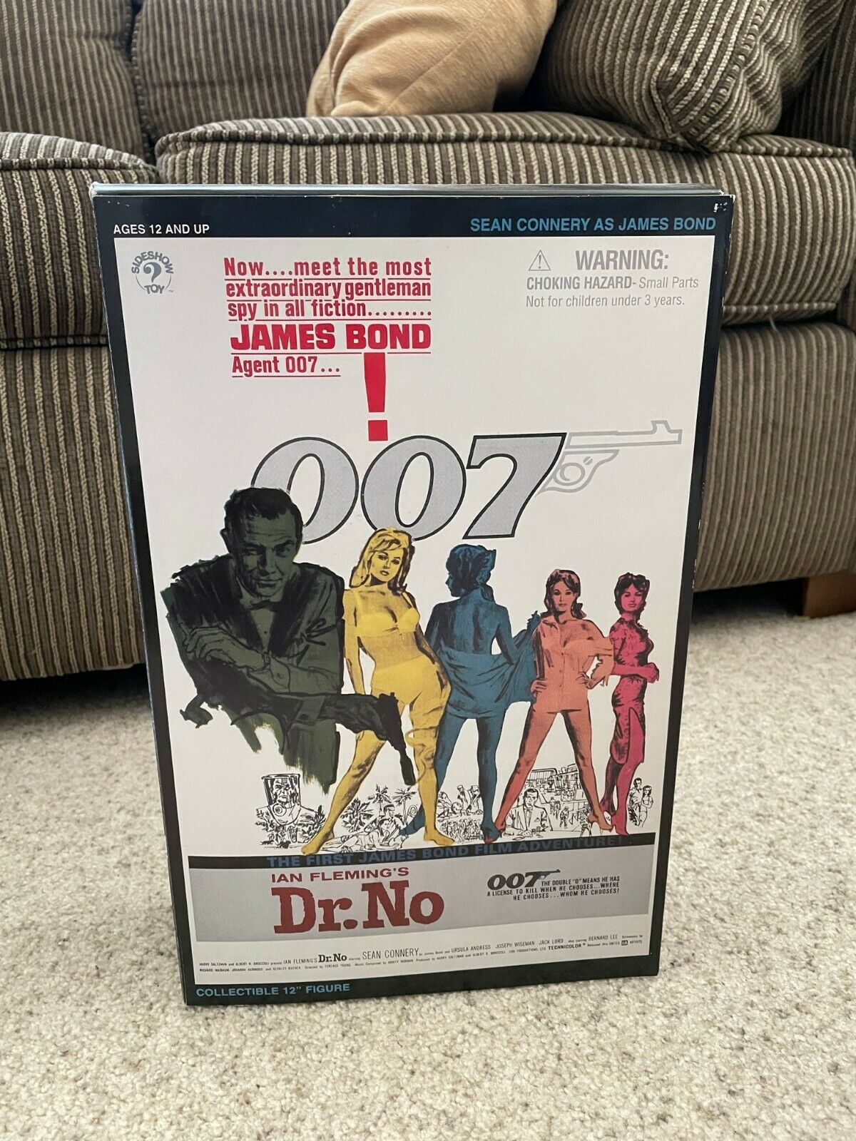 """12"""" SIDESHOW Collectibles Dr. No James Bond 007 Sean Connery Action Figure 2002 on eBay thumbnail"""