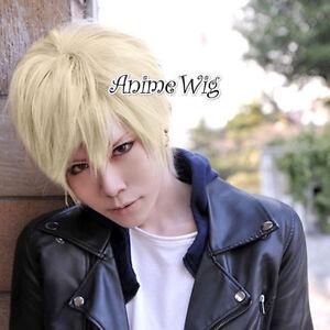 Axis-Powers-Hetalia-APH-England-Ash-Blonde-Short-30CM-Anime-Cosplay-Wig
